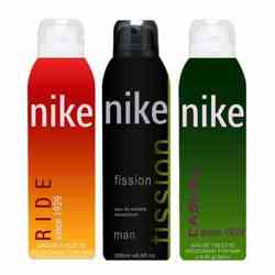 Nike Casual Ride Fission Pack of 3 Deodorants
