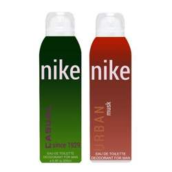 Nike Casual And Urban Musk Pack of 2 Deodorants