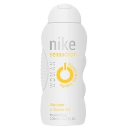 Nike Sensaction Passion For Vanilla 2in1 Shampoo And Shower Gel