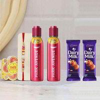 Park Avenue Alexander Deodorants Rakhi Gift Pack