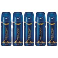 Park Avenue Good Morning Value Pack Of 5 Shots Deodorants