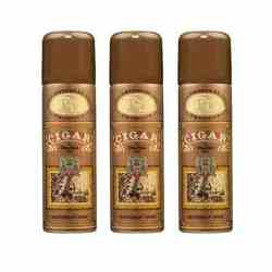 Remy Latour Cigar Pack Of 3 Deodorants