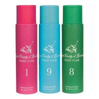 Royal County Of Berkshire Polo Club No 1, 9, 8 Pack of 3 Deodorant Sprays