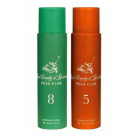 Royal County Of Berkshire Polo Club No 8, 5 Pack of 2 Deodorant Sprays For Women