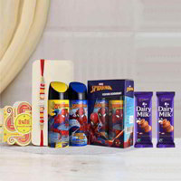 Spiderman Deodorants Rakhi Gift Pack