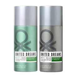 United Colors Of Benetton Aim High And Be Strong Pack Of 2 Deodorants