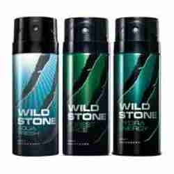 Wild Stone Aqua Fresh Forest Spice Hydra Energy Pack of 3 Deodorants