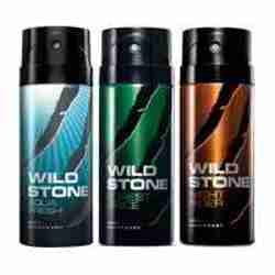Wild Stone Aqua Fresh Forest Spice Night Rider Pack of 3 Deodorants