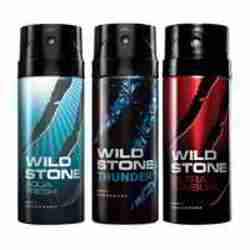 Wild Stone Aqua Fresh Thunder Ultra Sensual Pack of 3 Deodorants