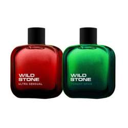 Wild Stone Forest Spice And Ultra Sensual Pack Of 2 Perfumes