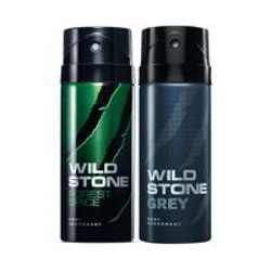 Wild Stone Forest Spice Grey Pack of 2 Deodorants