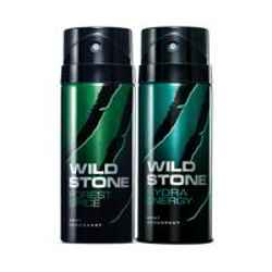 Wild Stone Forest Spice Hydra Energy Pack of 2 Deodorants