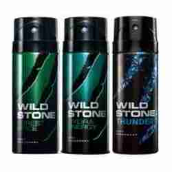 Wild Stone Forest Spice Hydra Energy Thunder Pack of 3 Deodorants