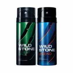 Wild Stone Forest Spice Legend Pack of 2 Deodorants