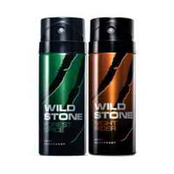 Wild Stone Forest Spice Night Rider Pack of 2 Deodorants