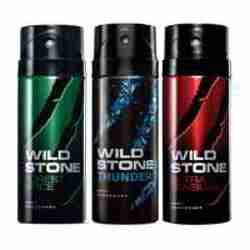 Wild Stone Forest Spice Thunder Ultra Sensual Pack of 3 Deodorants