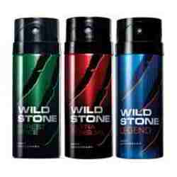 Wild Stone Forest Spice Ultra Sensual Legend Pack of 3 Deodorants