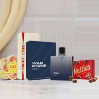 Wild Stone Code Grey Perfume Rakhi Gift Pack
