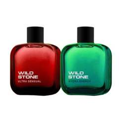 Wild Stone Hydra Energy And Ultra Sensual Pack Of 2 Perfumes