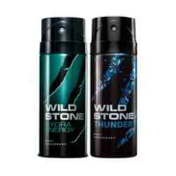 Wild Stone Hydra Energy Thunder Pack of 2 Deodorants