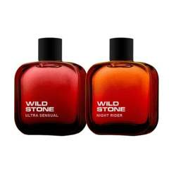 Wild Stone Night Rider And Ultra Sensual Pack Of 2 Perfumes