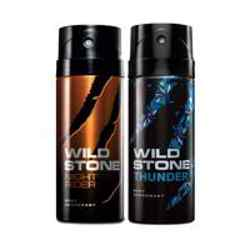 Wild Stone Night Rider Thunder Pack of 2 Deodorants