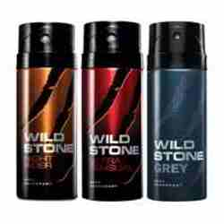 Wild Stone Night Rider Ultra Sensual Grey Pack of 3 Deodorants