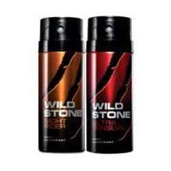 Wild Stone Night Rider Ultra Sensual Pack of 2 Deodorants