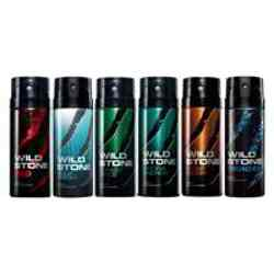 Wild Stone Red Aqua Fresh Forest Spice Hydra Energy Night Rider Thunder Pack of 6 Deodorants