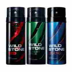 Wild Stone Red Forest Spice Legend Pack of 3 Deodorants