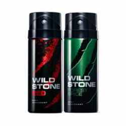 Wild Stone Red Forest Spice Pack of 2 Deodorants