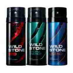 Wild Stone Red Hydra Energy Legend Pack of 3 Deodorants