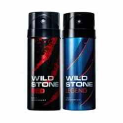 Wild Stone Red Legend Pack of 2 Deodorants