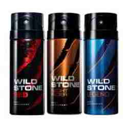 Wild Stone Red Night Rider Legend Pack of 3 Deodorants