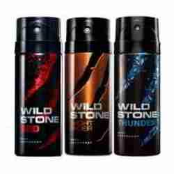 Wild Stone Red Night Rider Thunder Pack of 3 Deodorants