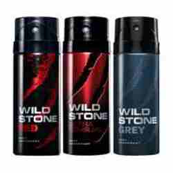 Wild Stone Red Ultra Sensual Grey Pack of 3 Deodorants
