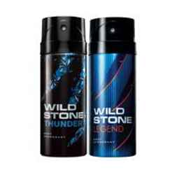 Wild Stone Thunder Legend Pack of 2 Deodorants