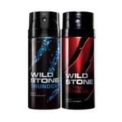 Wild Stone Thunder Ultra Sensual Pack of 2 Deodorants