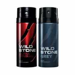Wild Stone Ultra Sensual Grey Pack of 2 Deodorants