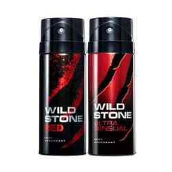 Wild Stone Ultra Sensual, Red Pack of 2 Deodorants