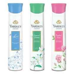 Yardley London English Rose, Jasmine, Lace Satin Pack of 3 Deodorants