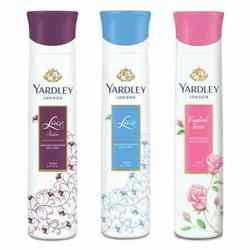 Yardley London English Rose, Lace Satin, Lace Pack of 3 Deodorants