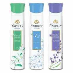 Yardley London Jasmine, Lace, English Lavender Pack of 3 Deodorants