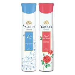 Yardley London Red Roses, Lace Pack of 2 Deodorants