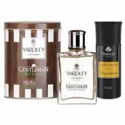 Yardley London Gentleman Citrus And Wood Perfume And Deodorant Combo
