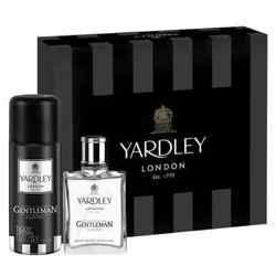 Yardley Gentleman Classic Perfume And Deodorant Gift Set For Men