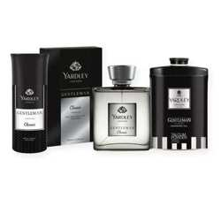 Yardley Gentleman Perfume, Deodorant And Talcum Combo Set