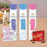 Yardley London Deodorants Rakhi Return Gift Hamper