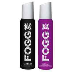 Fogg Marco, Royal Pack of 2 Deodorants For Men