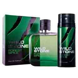 Wild Stone Forest Spice Perfume And Deodorant Combo For Men